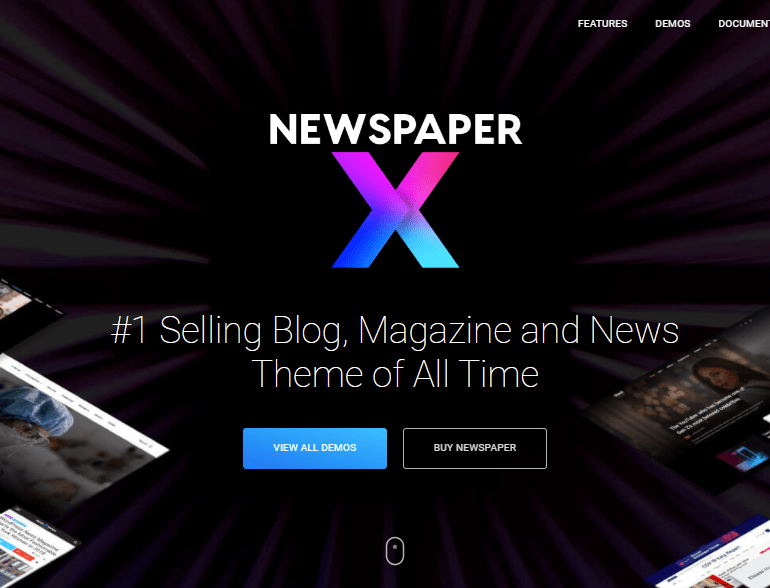 newspapertheme
