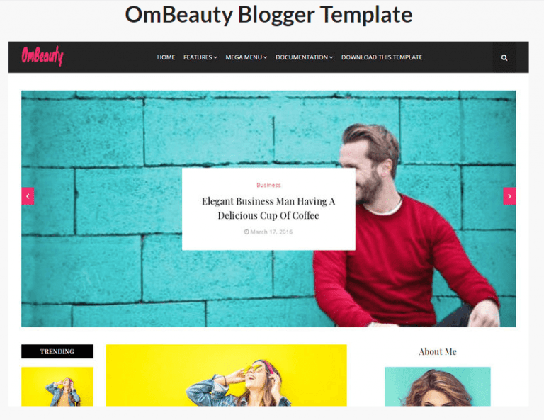 OmBeauty-Blogger-Template