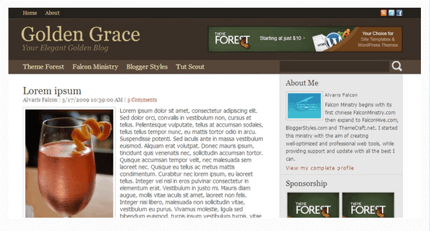 Personal Blogger Template