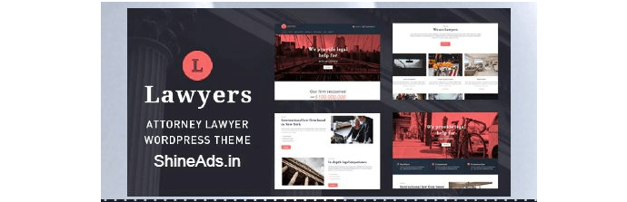 lawyers wordpress theme free download