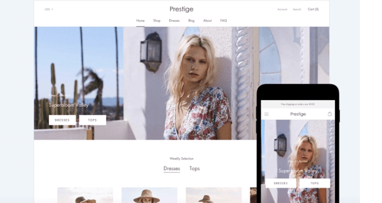 prestige shopify theme free download