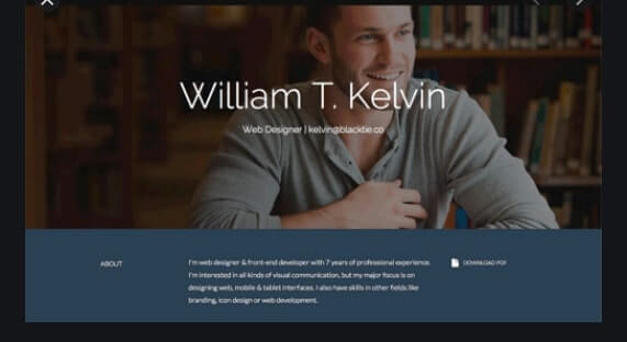 Kelvin-Bootstrap-Template-free-download