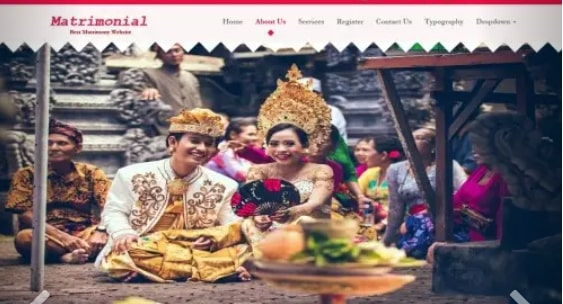indian-matrimony-website-templates-free-download