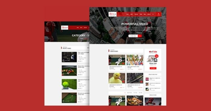 video-blogger-template